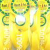 Packaging for RastAfri Freed'm Silky Braid, Pastel Yellow / Lemon Drop
