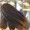"Afro Beauty 17"" Marley Twist Braid, T1B/30 Off Black with Light Auburn Tips"