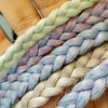 _alumination wearing Light Sea Green, Lavender, and Periwinkle Blue braids
