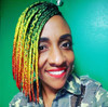 Malisha wearing braids in Stoplight
