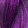 Color swatch for Crinkle Tinsel Hair, Purple