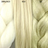 Color comparison from left to right: 1001/613 Creamy Blond, 613 Platinum Blond, 22 Ash Blond