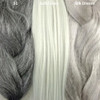 Color comparison from left to right: 51 Grey, Solid Grey, Silk Dream