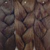 Color comparison from left to right: 4 Dark Brown, 8 Ash Brown, 6 Chestnut Brown