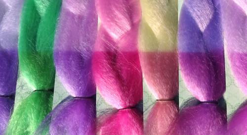 Introducing color change solar hair with RastAfri's Mood Braid!