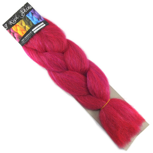 IKS Kanekalon Jumbo Braid, Cherry Red
