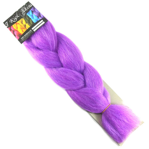 Kanekalon Jumbo Braid, Orchid (I Kick Shins)