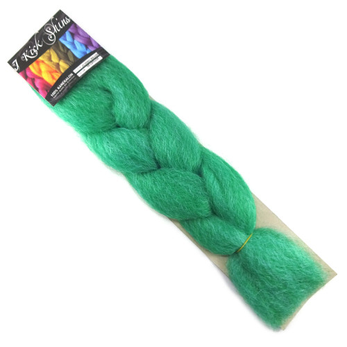 Kanekalon Jumbo Braid, Seafoam Green (I Kick Shins)