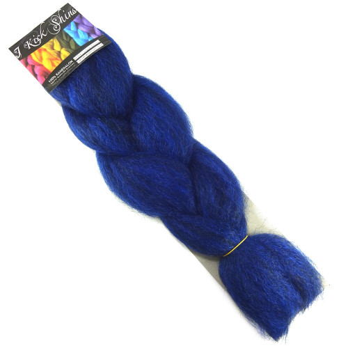 Kanekalon Jumbo Braid, Midnight Blue (I Kick Shins)