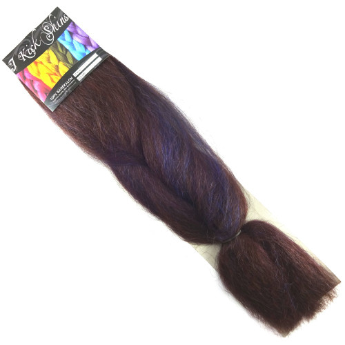 IKS Kanekalon Jumbo Braid, Blue Chocolate