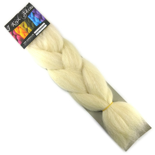 IKS Kanekalon Jumbo Braid, 1001/613 Creamy Blond
