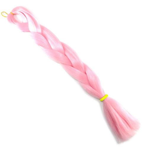 High Heat Kanekalon Braid, Light Pink