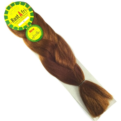 RastAfri Freed'm Silky Braid, 30 Light Auburn