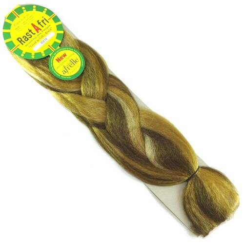 RastAfri Freed'm Silky Braid, GSF14 Golden Brown/Blond Mix