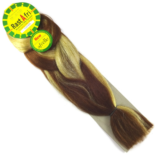 RastAfri Freed'm Silky Braid, GSF904 Sandy Brown Mix