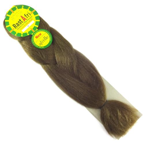 Kanekalon Jumbo Braid, 12 Light Brown (RastAfri Freed'm Silky)