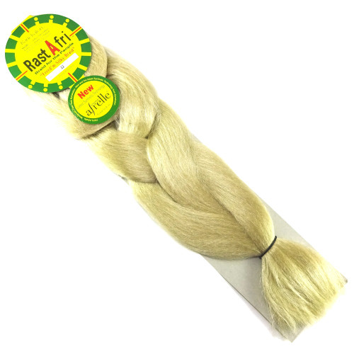 Kanekalon Jumbo Braid, 22 Ash Blond (RastAfri Freed'm Silky)