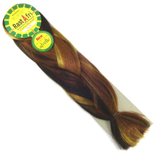 Kanekalon Jumbo Braid, FS4/27/30 Peanut Butter Cup (RastAfri Freed'm Silky)