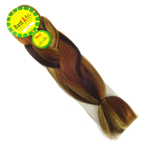 RastAfri Freed'm Silky Braid, FS27/30/33 Caramel Mix