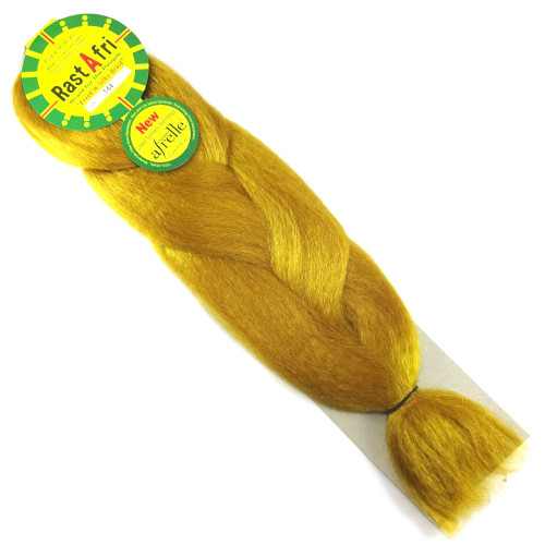 Kanekalon Jumbo Braid, 144 Gold (RastAfri Freed'm Silky)