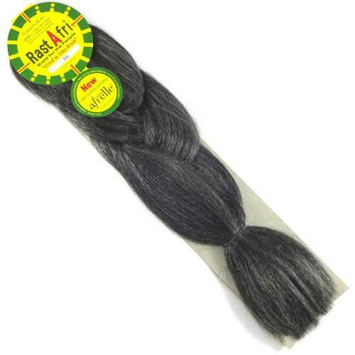 RastAfri Freed'm Silky Braid, B34 Charcoal Grey