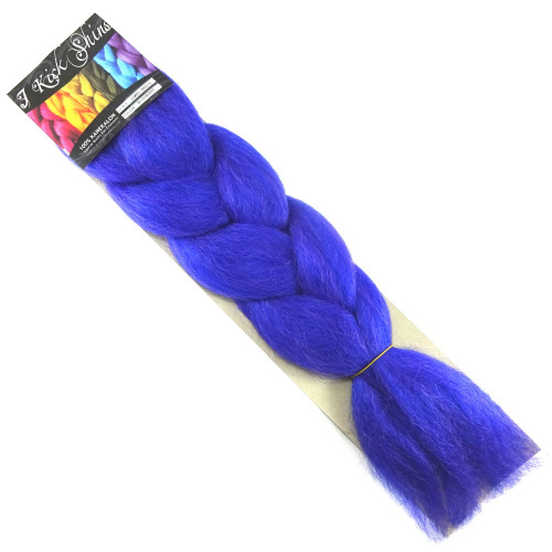 Kanekalon Jumbo Braid, Blueberry (I Kick Shins)
