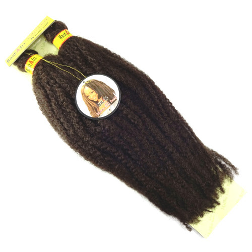 "19"" Marley Braid, 6 Chestnut Brown (RastAfri)"