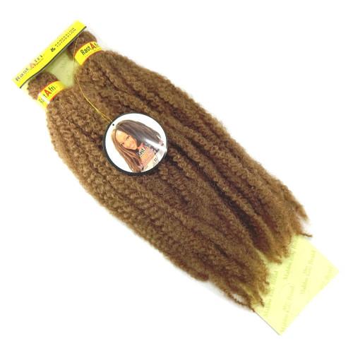 "RastAfri 19"" Malibu Afro Kinky, 27 Strawberry Blond"