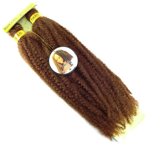 "RastAfri 19"" Malibu Afro Kinky, 30 Light Auburn"