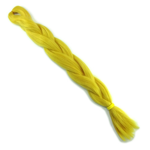 High Heat Kanekalon Braid, Mustard Yellow