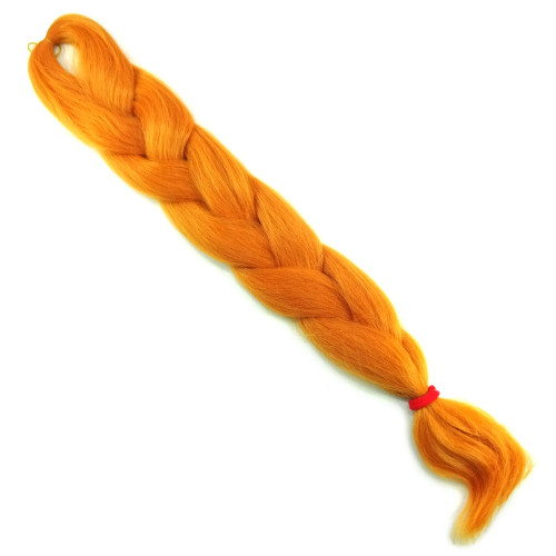 High Heat Kanekalon Braid, Burnt Orange