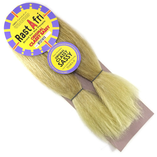 "Kanekalon Jumbo Braid, T27/613 Mixed Blond with Platinum Tips (RastAfri Original Classy Sassy 14"")"
