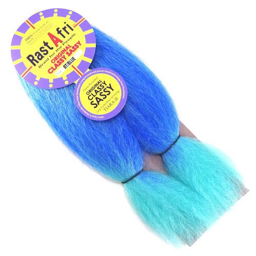 "RastAfri 14"" Original Classy Sassy, Azure Ombré (BT/Blue)"
