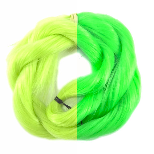 Lime/Green thermal color change hair extensions
