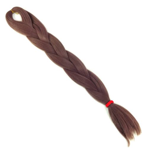 High Heat Kanekalon Braid, Mauve Taupe