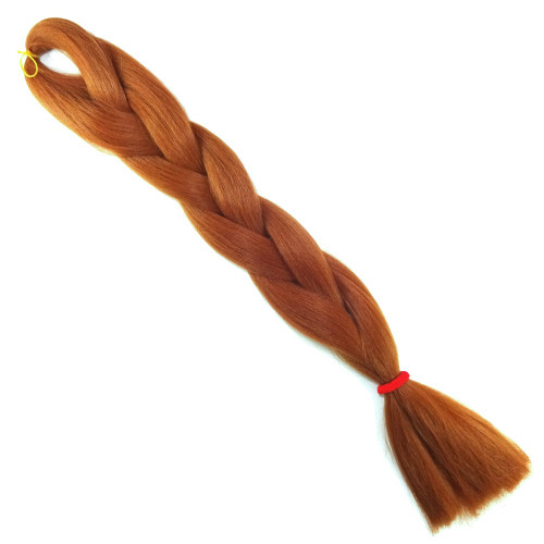 High Heat Kanekalon Braid, Toffee