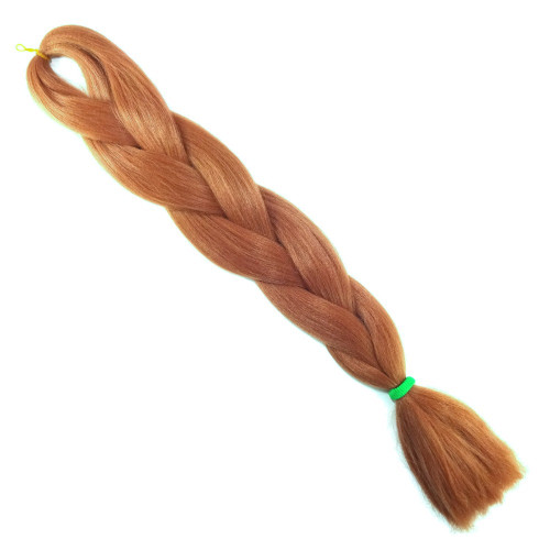 High Heat Kanekalon Braid, Persian Orange