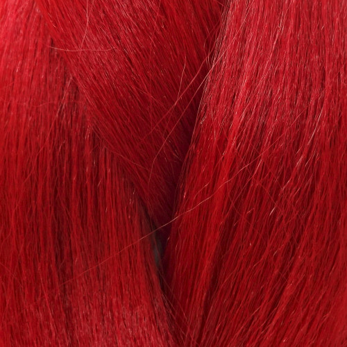 High Heat Kanekalon Braid, Crimson