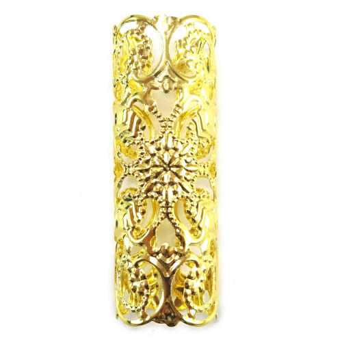 Goddess Filigree Hair Cuffs, Gold