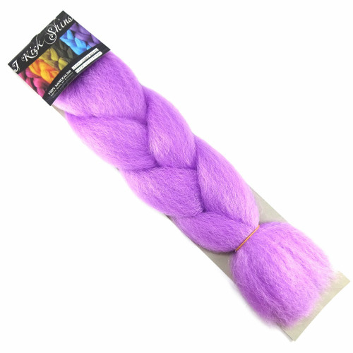 Kanekalon Jumbo Braid, Orchid Purple (I Kick Shins)