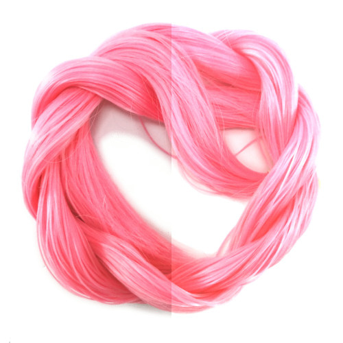 Thermal Color Change Hair, Coral Pink/Candyfloss