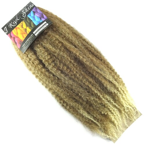 "IKS 17"" Crinkle Twist Braid, T6/27/613 Seashore Ombré"