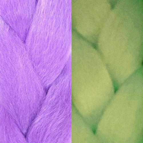 Glow Braid, Light Purple (I Kick Shins)