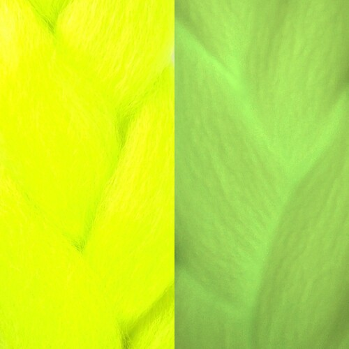 IKS Glow Jumbo Braid, Neon Yellow