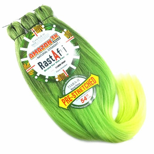 RastAfri Pre-Stretched Amazon 3X Braid, 3T/Green Swamp