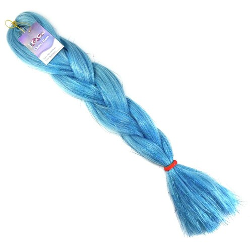 High Heat Sparkle Braid, Aquamarine