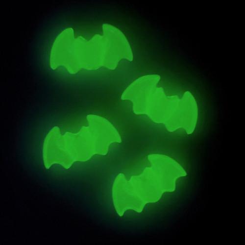 Bat Shaped Pony Beads, Mantis (Glow in the Dark)