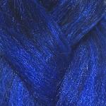 1B Off Black with Cobalt Blue Tips