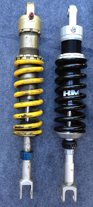 Custom shock makes for a high value upgrade for your Cagiva Elefant or Ducati E900