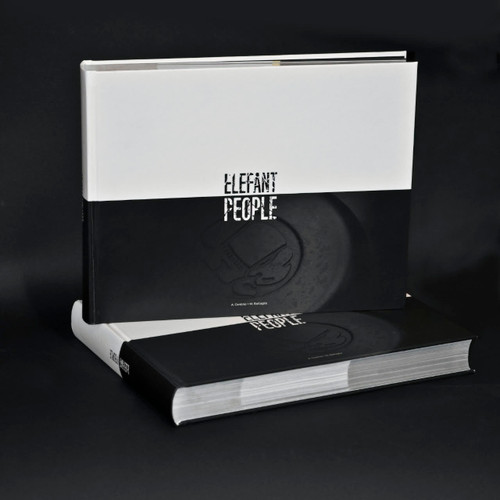 Elefant People Book - 544 color pages. Limited Quantity.